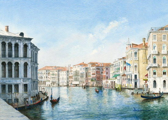 grand canal venice italy prints of painting drury art gallery